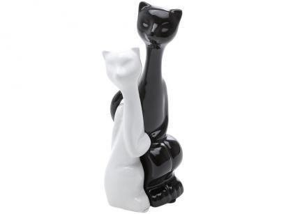 Casal Gatos Amorosos Prestige - 19cm