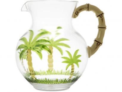 Jarra Bon Gourmet 2,7L Redonda - Palm Tree