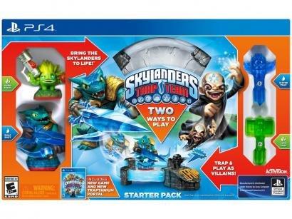 Skylanders Trap Team Starter Pack - para PS4 Activision 2 Unidades