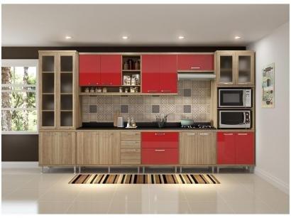 Cozinha Completa Multimóveis Sicília 58071320808 - com Balcão Nicho para Forno...