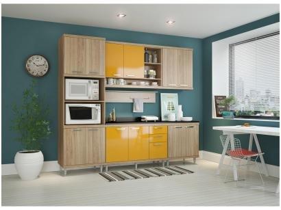 Cozinha Completa Multimóveis Sicília 58151326956 - com Balcão Nicho para Forno...