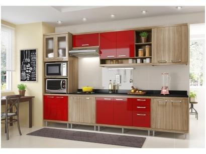 Cozinha Completa Multimóveis Sicília 58351328156 - com Balcão Nicho para Forno...