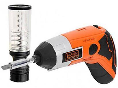 Parafusadeira Black&Decker BDCS36W a Bateria - 3.6V com Abridor de Vinho
