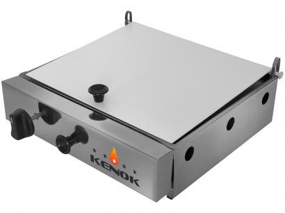 Chapa para Lanches à Gás com Prensa Kenok - ARMP-049 30.5x28.5cm