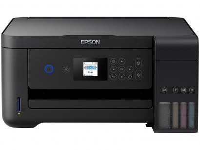 Impressora Multifuncional Epson EcoTank L4160 - Tanque de Tinta Colorido Wi-Fi...
