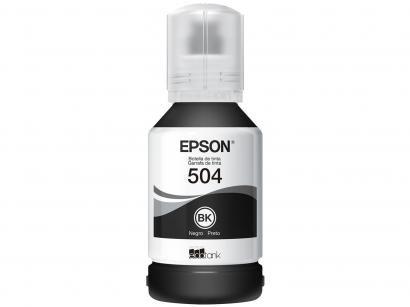 Refil de Tinta Epson Preto - T504