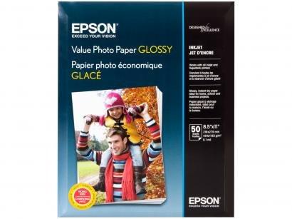 Papel Fotográfico Epson Value Photo Paper Glossy - 50 Folhas