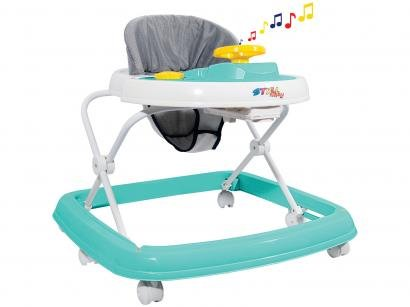 Andador para Bebê com Bandeja Musical Styll Baby - Sonoro