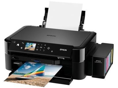 """Impressora Multifuncional Epson EcoTank L850 - Jato de Tinta Colorida LCD 2,7""""..."""
