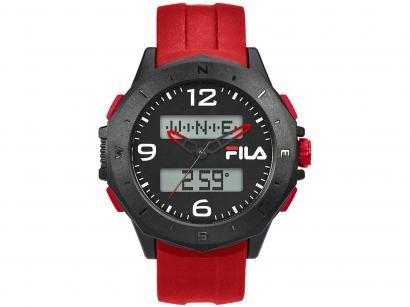 Relógio Unissex Fila Anadigi Esportivo - 38-150-004 Vermelho