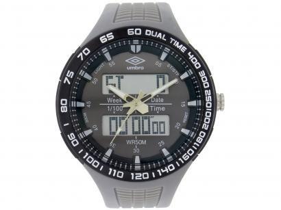 Relógio Unissex Umbro Anadigi - UMB-04-7 Cinza