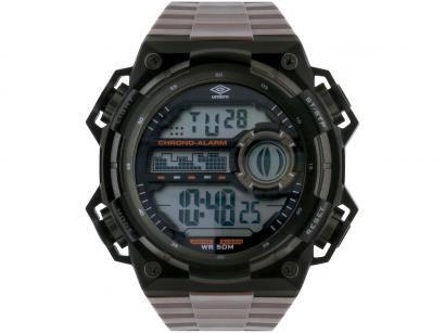 Relógio Unissex Umbro Digital - UMB-015-2 Marrom