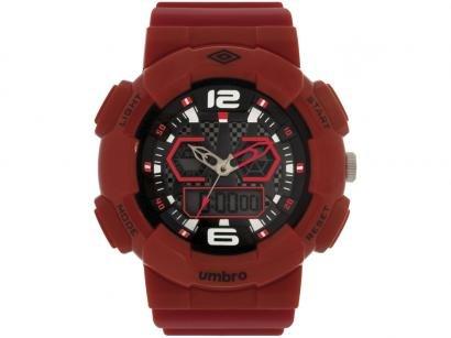 Relógio Unissex Umbro Anadigi - UMB-021-2 Vermelho