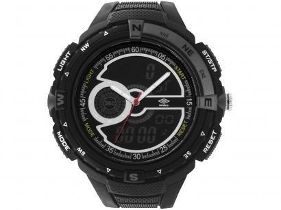 Relógio Unissex Umbro Anadigi - UMB-060-2 Preto