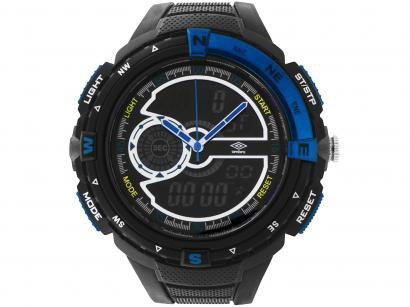 Relógio Unissex Umbro Anadigi - UMB-060-3 Preto