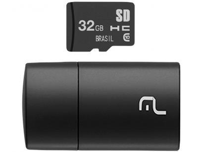 Cartão de Memória 32GB Micro SD Multilaser - Classe 10 MC163