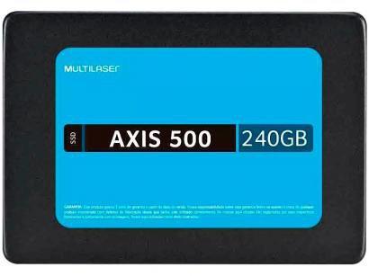 SSD para Notebook 240GB Multilaser SATA - Leitura de 430MB/s e Gravação 400MB/s...