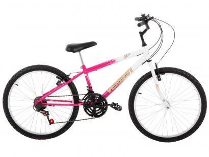 5c3fa92b2 Bicicleta Verden Live Aro 24 18 Marchas - Quadro de Aço Freio V-Brake