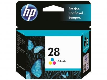 Cartucho de Tinta HP Colorido - 28 Original