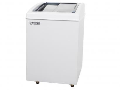 Freezer Horizontal 2 Tampas de Vidro Ártico - 100L Branca FH150B