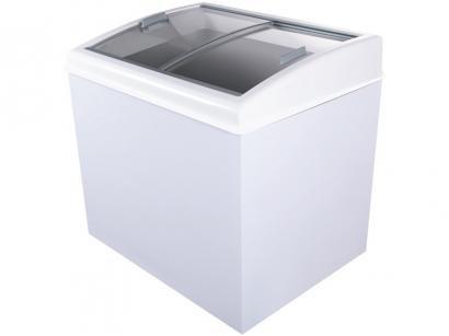 Freezer Horizontal 2 Tampas de Vidro Artico 300L - FH300B