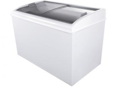 Freezer Horizontal 2 Tampas de Vidro Artico 400L - FH400B