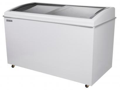 Freezer Horizontal 2 Tampas de Vidro Artico 500L - FH500B