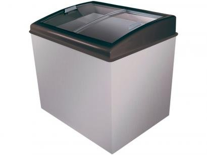 Freezer Horizontal 2 Tampas de Vidro Artico 300L - Colors FH300C