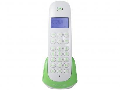 Telefone Sem Fio Motorola MOTO700-G - Identificador de Chamada Expansível Multi...