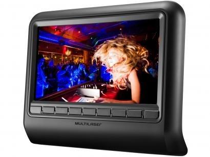 "DVD Automotivo Multilaser AU705 Tela LCD 9"" - 1 Watts RMS"