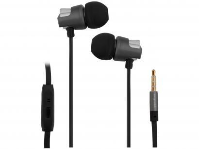 Fone de Ouvido Easy Mobile Intra Auricular - Esportivo com Microfone com cabo P2 Urban Bass