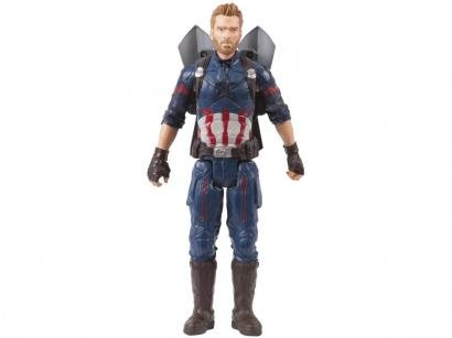 Boneco Avengers Infinity War Titan Hero Power Pack - FX Capitão América Hasbro