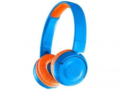 Headphone/Fone de Ouvido Bluetooth JBL - com Microfone Infantil Azul e Laranja...