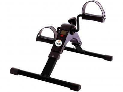 Mini Bike Ergométrica Acte Sports Compact - 8 Níveis de Esforço Display 5 Funções