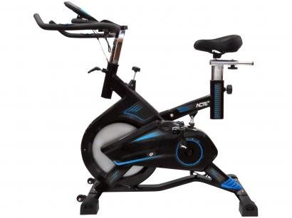 Bicicleta Spinning Acte Sports Pro - Assento Regulável Display