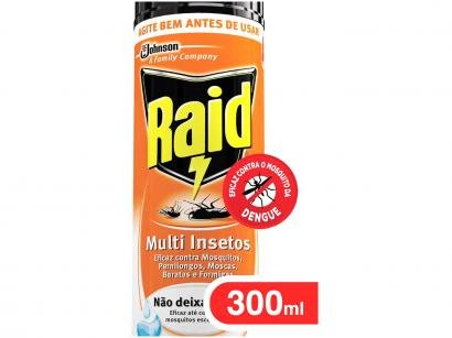 Inseticida Raid Aerosol Multi Insetos - 300ml