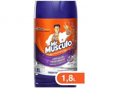 Limpador Líquido de Chão Mr Músculo Perfumado - 1,8L