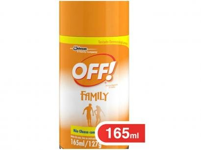 Repelente Off Aerosol Family - 165ml
