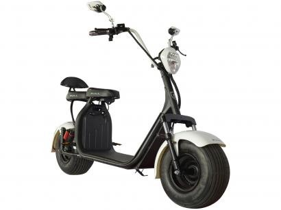Scooter Elétrica 1000W Branca - Ciclo City Veloce
