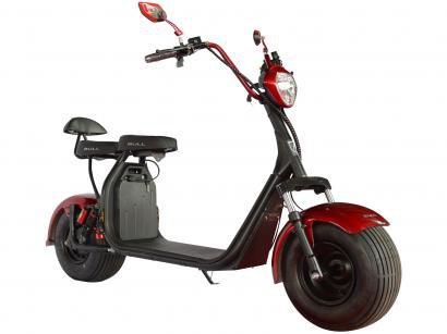 Scooter Elétrica 1000W Vermelha Bull Motors - Ciclo City Veloce