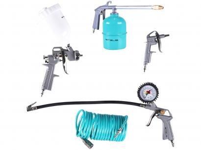 Kit de Acessórisos para Compressor 5 Peças Stels - 5730455