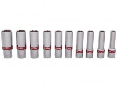 Jogo de Soquetes MTX 135909 10-22mm - 10 Peças