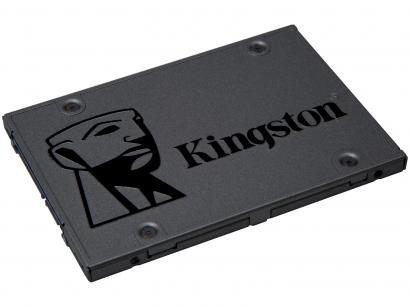 SSD 120GB Kingston A400 120GB SATA Rev. 3.0 - Leitura 500MB/s e Gravação 320MB/s