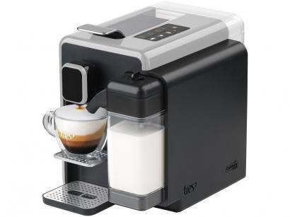 Cafeteira Espresso TRES Barista Prata 3 Corações