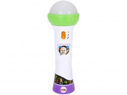 Microfone e Gravador Mattel Fisher Price - FBR74