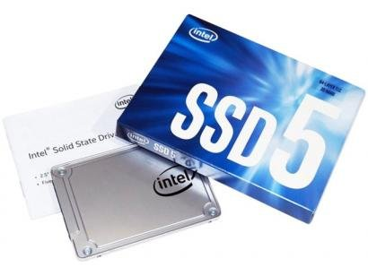 SSD 128GB Intel Interface Leituras 550MB/s - Gravações 440MB/s SSDSC2KW128G8X1 I