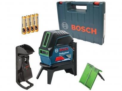 Nível Laser Automático Bosch GCL 2-15 - com Base Magnética Alcance 15m com Maleta
