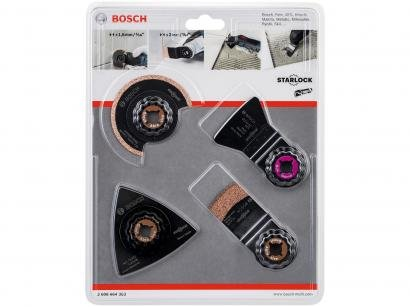 Kit para Multicortadora Bosch OMT - 4 Peças