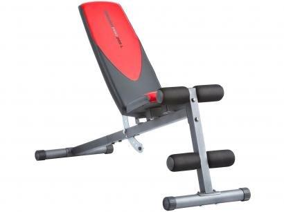 Banco de Musculação Regulável 04 Níveis Até 110kg - Weider 255L