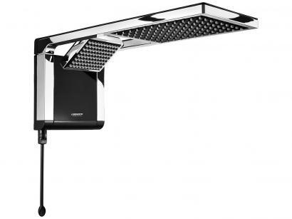 Chuveiro Eletrônico Lorenzetti Aqua Duo Ultra - 6800W Preto e Cromado...